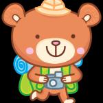 Стикеры для Telegram медвеженок Бернард