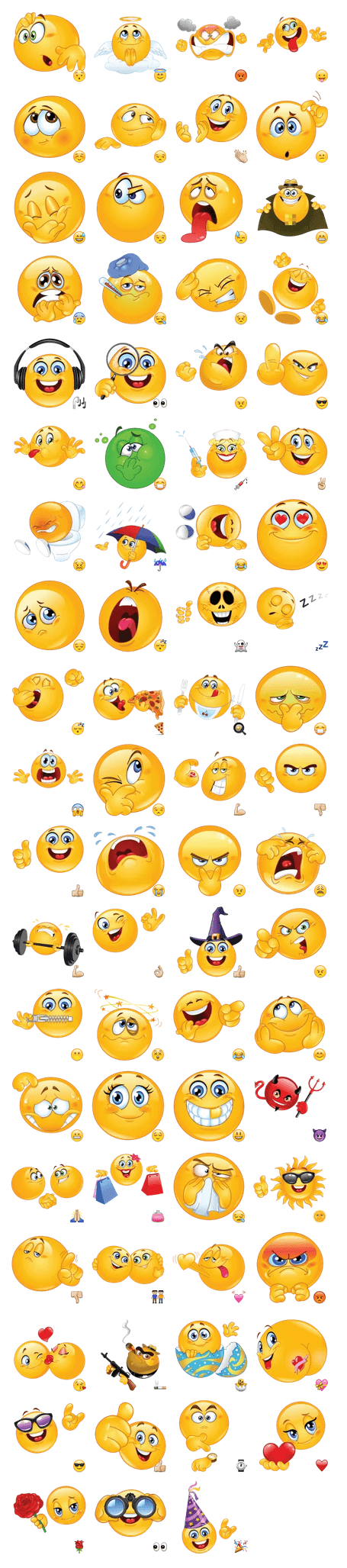 Стикеры для telegram emoticon