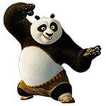 Набор стикеров «Кунг-фу панда» для Телеграмм