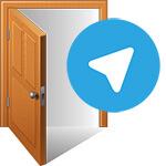 Как выйти из Telegram