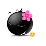 "Коллекция стикеров ""Black Emoji"" для Телеграмм"