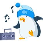 """Коллекция стикеров """"Пингвин"""" для Telegram"""
