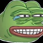 Набор стикеров Лягушка Pepe для Telegram