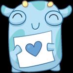 Набор стикеров «Имп» для Телеграмм