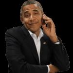 Набор стикеров «Обама»