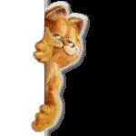 Nabor stikerov garfild-dlya-telegram-online