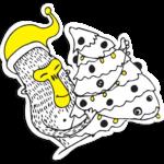Nabor stikerov gorodskie obez`yani