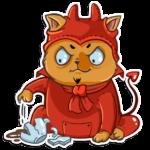 Набор стикеров «Кошки»