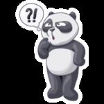 Набор стикеров «Панда»