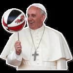 Набор стикеров «Папа Римский»