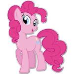 Коллекция стикеров «Розовый пони» для Телеграмм