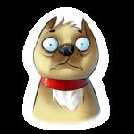 Набор стикеров «Собачки»