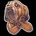 Набор стикеров «Собаки»