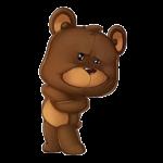 Набор стикеров «Тедди»